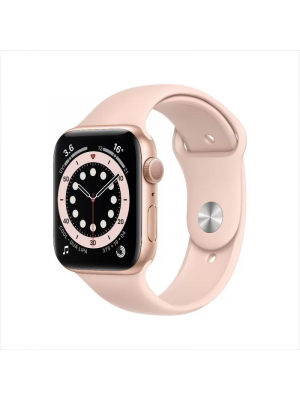 MG123AE/AWS6 GPS 40mm Gold Alum-Pink Sand Sport Band33