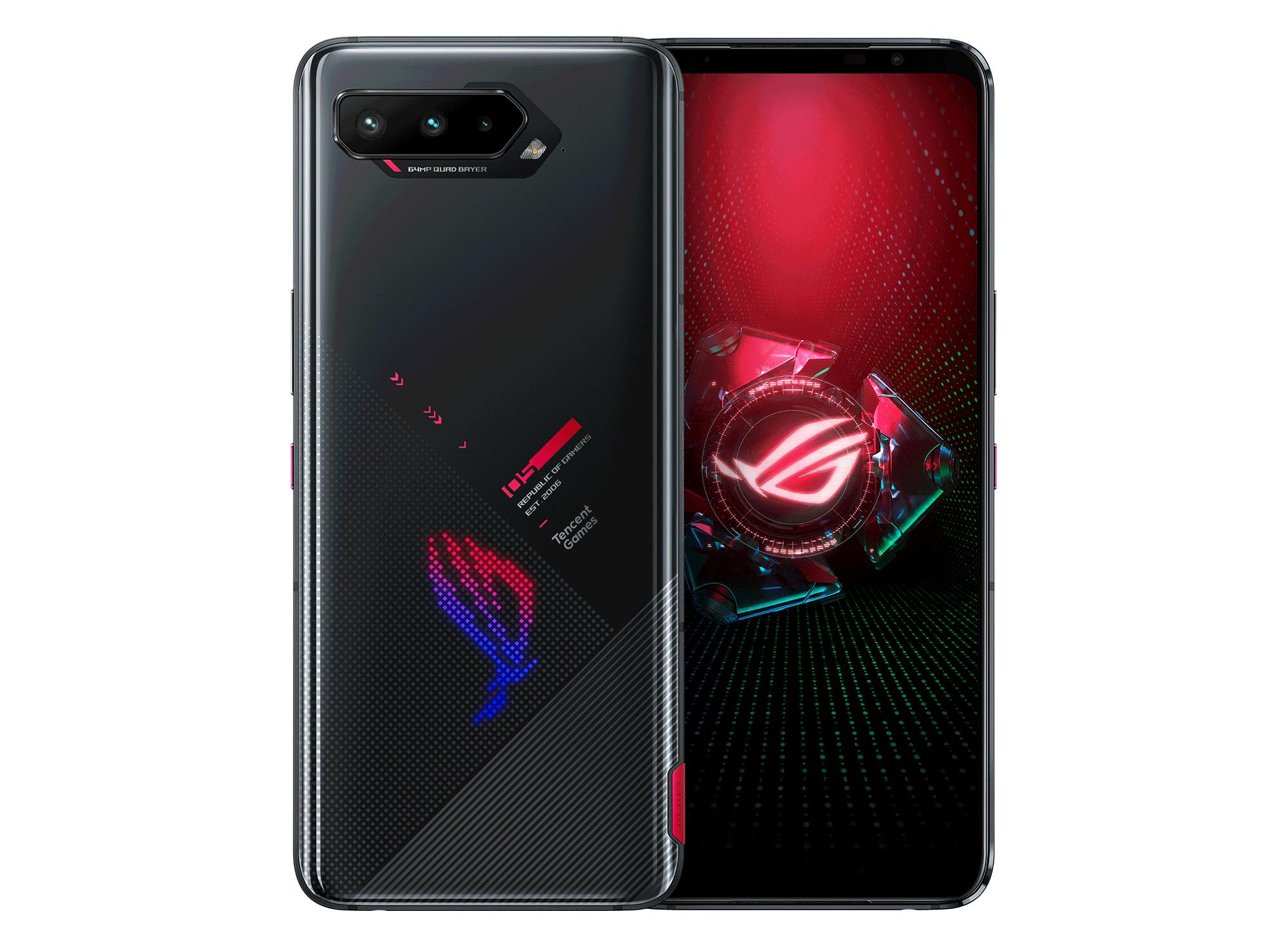 ASUS ROG Phone 5S-512GB ، 18GB RAM-Phantom Black-Global