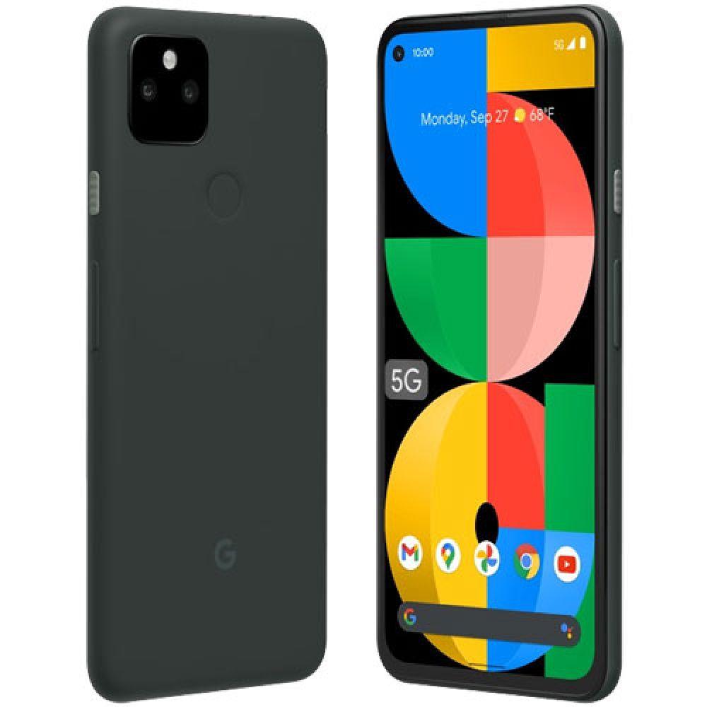 Google Pixel 5a 5G-128GB,6GB RAM-Mostly Black-Japan