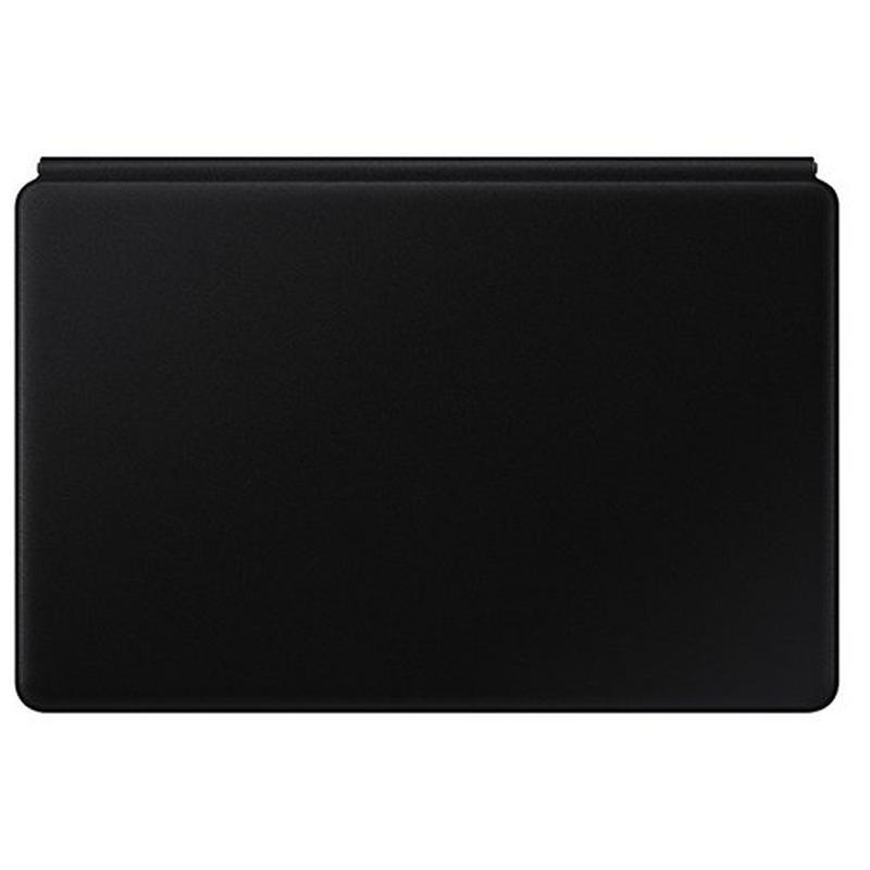 Samsung Galaxy Tab S7 plus, 12.9 Inch Book Cover Keyboard, Arabic and English, Black